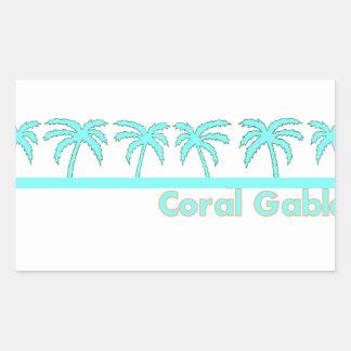 COral Gables Sticker