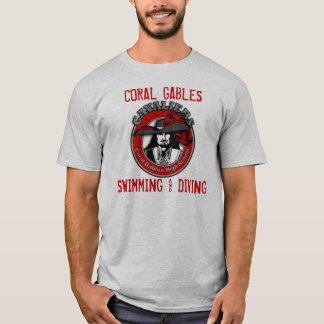 CORAL GABLES SWIMMING & DIVING T-Shirt