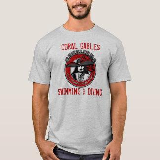 CORAL GABLES SWIMMING & DIVING T-Shirt