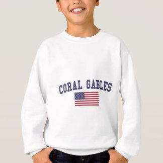 Coral Gables US Flag Sweatshirt