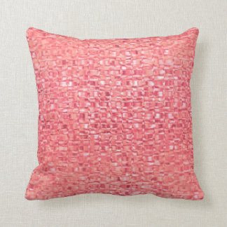 Coral Glass Pillow