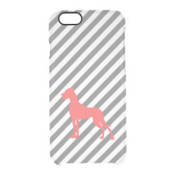 Uncommon iPhone 6 Clearly™ Deflector Case with Great Dane Phone Cases design