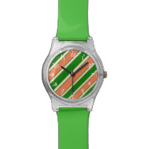 Coral Green Wrist Watch