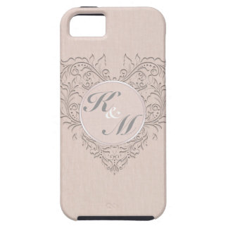 Coral HeartyChic iPhone SE/5/5s Case