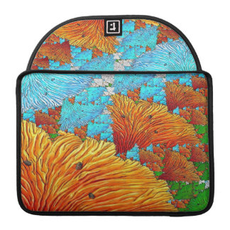 Coral Illustration Sleeve For MacBook Pro