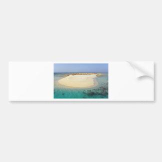 coral island bumper sticker