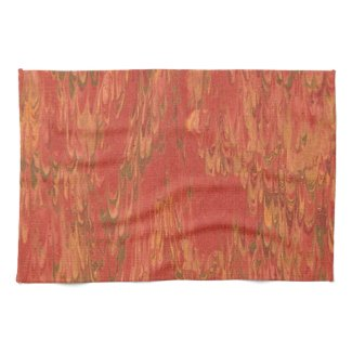Coral Lava Towel