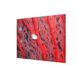 coral lienzo envuelto para galerías
