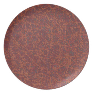 Coral Marble Plate