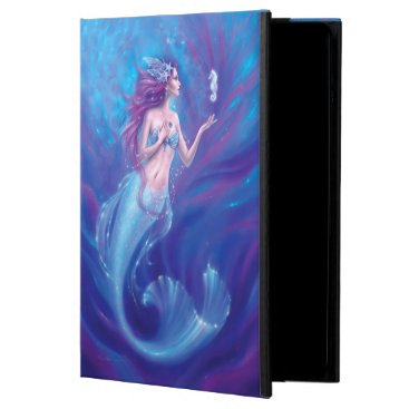 Coral - Mermaid and Seahorse Case For iPad Air