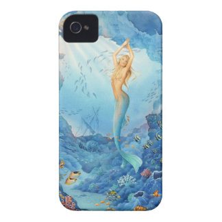 """""""Coral"""", Mermaid, Fish and Shipwreck iPhone Case"""