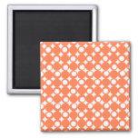 Coral Mod Ball Design @ Emporio Moffa Refrigerator Magnet