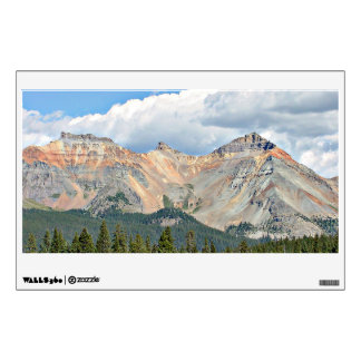 Coral Mountains Wall Decal