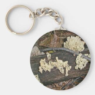 Coral Mushroom Coordinating Items Keychain