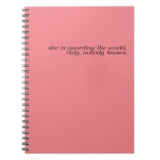 Coral Notebook - Allen Gurganus Quote
