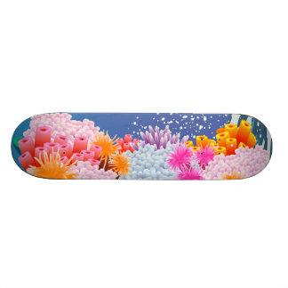 Coral Ocean Skateboard