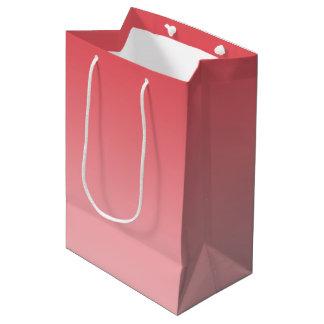 Coral Ombre Medium Gift Bag