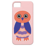 Coral Owl iPhone 5 Covers