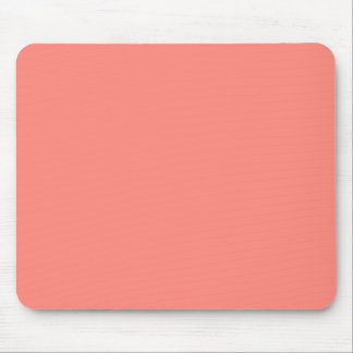 Coral Peach Background. Fashion Color Trend. Chic Mouse Pad