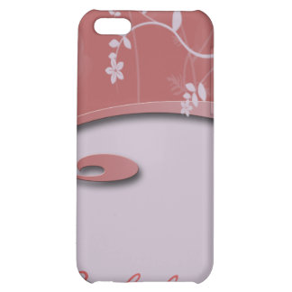 Coral Pink Garden iPhone4 Cover iPhone 5C Cases