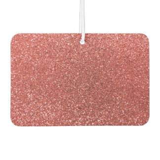 Coral pink glitter