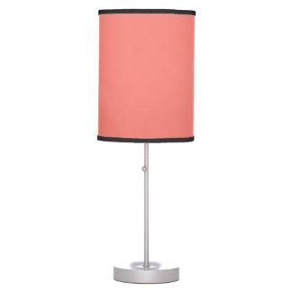 Coral Pink Lamp