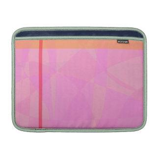 Coral Pink Marble Minimalism MacBook Air Sleeve