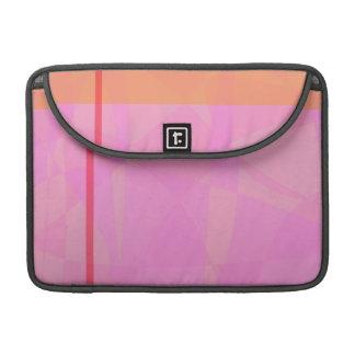 Coral Pink Marble Minimalism Sleeves For MacBook Pro