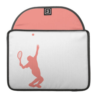 Coral Pink Tennis Sleeve For MacBooks