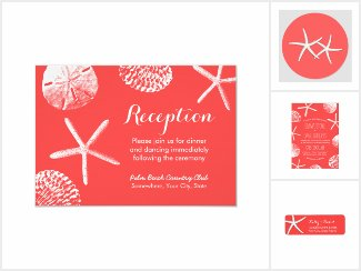 Coral Red Beach Weddings