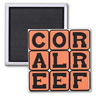 Coral Reef Aquatic Structure Magnet