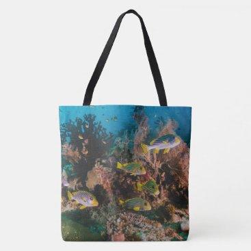 Beach Themed Coral Reef Beach bags