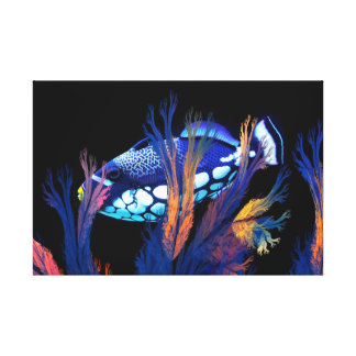 Coral Reef Beauty Canvas Print