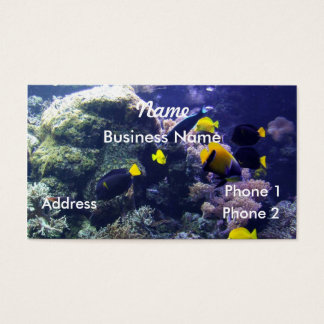 Coral-reef Business Card