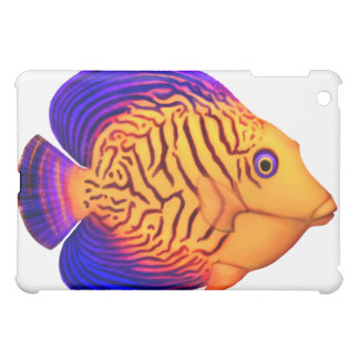 Coral Reef Chevron Tang iPad Case