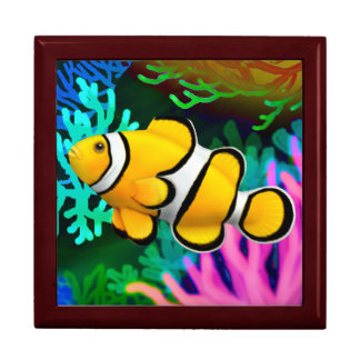Coral Reef Clown Anenome Fish Gift Box