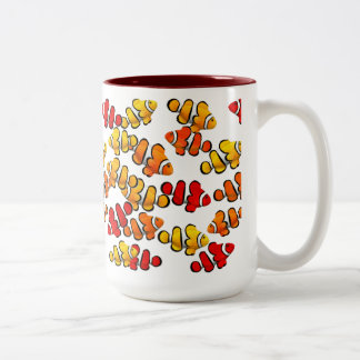 Coral Reef Clown Anenome Fish Mug