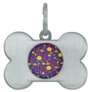 Coral Reef Crew Pet ID Tag