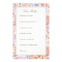 Coral Reef | Dear Baby Cards