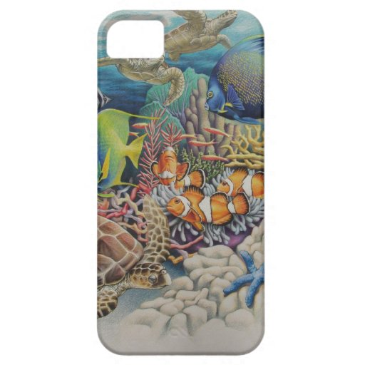 Coral Reef Fish in Symphony iPhone 5 Cases