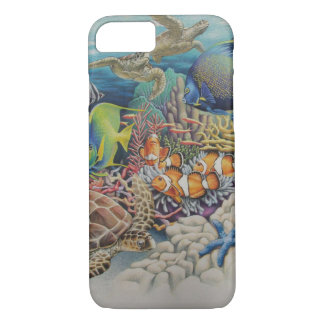 Coral Reef Fish in Symphony iPhone 7 Case