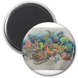 Coral Reef Fish in Symphony Magnet