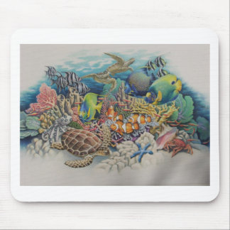 Coral Reef Fish in Symphony Mouse Pad