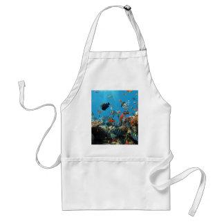 Coral Reef Fish Naturescape Adult Apron