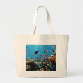 Coral Reef Fish Naturescape Tote Bags