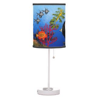 Coral Reef Fish Sea Life Lamp