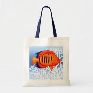 Coral Reef Flame Angelfish Bag