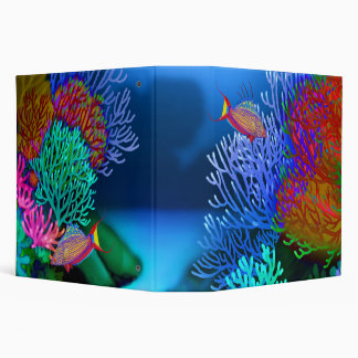 Coral Reef Flasher Wrasse Fish Binder