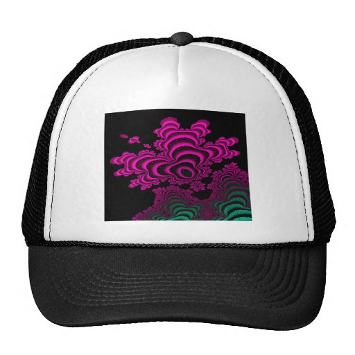 Coral Reef Fractal Design Hat