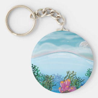 Coral Reef Keychain